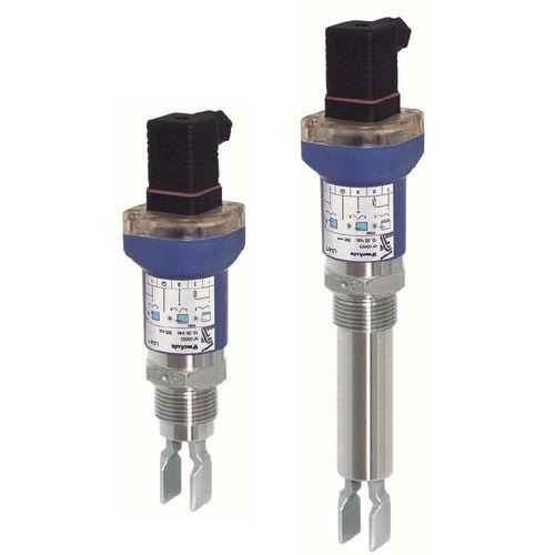 interruptor de nivel vibratorio / para sólidos / para líquidos / de acero inoxidable