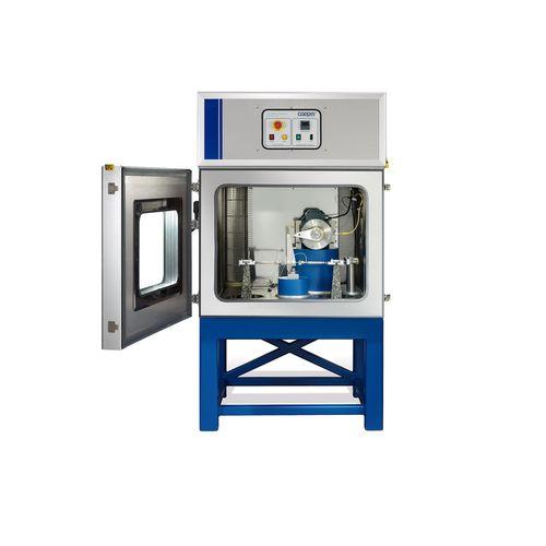 aparato de pruebas de rigidez / de flexión / para aglomerado bituminoso / vertical