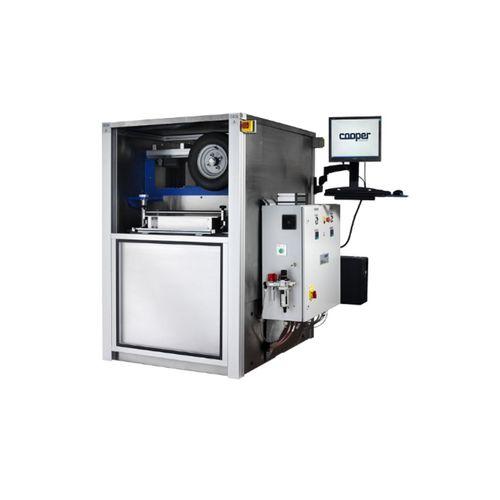 unidad de ensayo de ahuellamiento de grandes dimensiones / para mezcla bituminosa