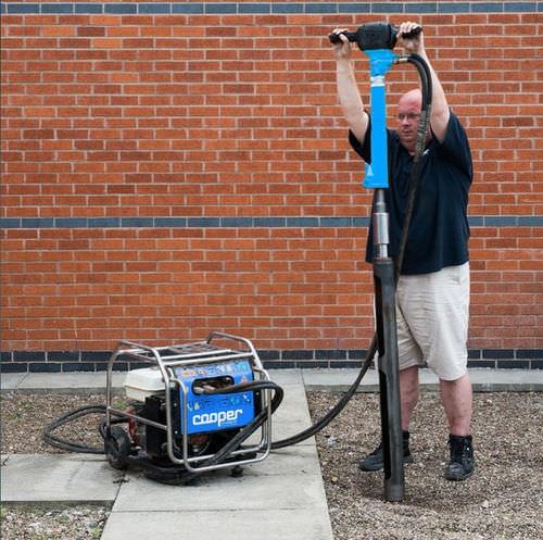 kit de muestreo de suelo / por cilindros