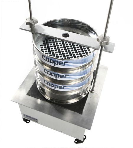 tamizadora de análisis para tamizado en seco / para laboratorio / para polvos / vibratoria circular
