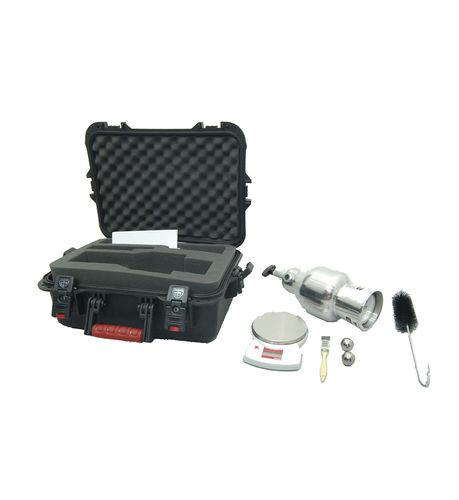 humidímetro para materiales sólidos / capacitivo / portátil