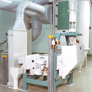 separador de aire / de partículas / para la industria del reciclaje