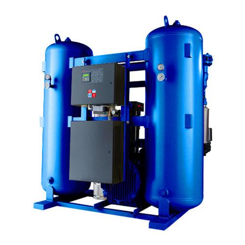 secador de aire comprimido por adsorción regenerados por el calor de compresión