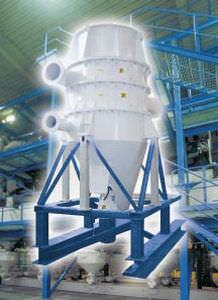 separador de aire / de partículas / de alto rendimiento
