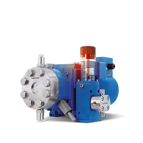 bomba para agua de uso industrial / con control hidráulico / de cebado estándar / de membrana