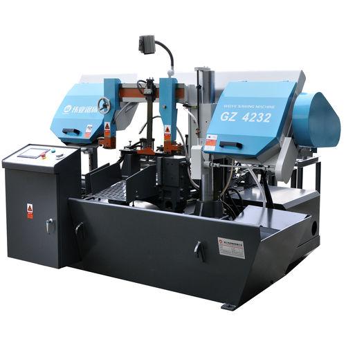 máquina de aserrar de cinta / para metales / automática / con sistema de refrigeración