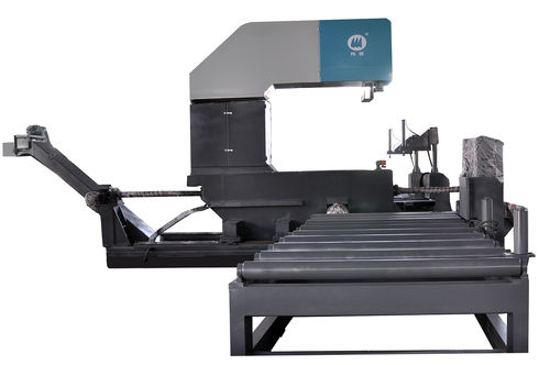 máquina de aserrar de cinta / para aluminio / para tuberías / para perfiles