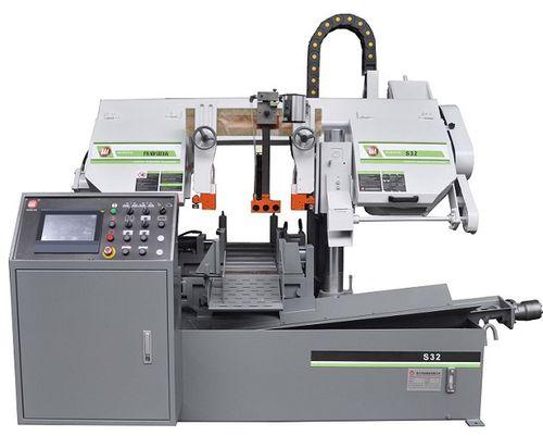 sierra de cinta / para metales / automática / horizontal