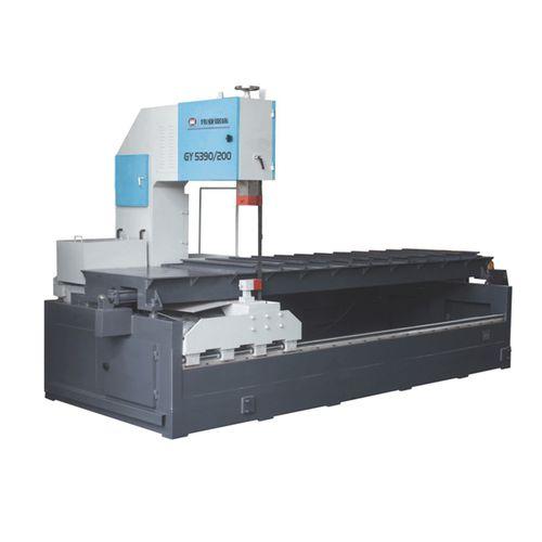 sierra de cinta / para metales / con sistema de refrigeración / longitudinal