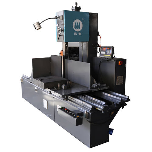 sierra de cinta / con sistema de refrigeración / de alta eficacia / longitudinal