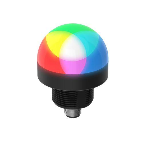 indicador luminoso permanente / de flash intermitente / intermitente / roscado