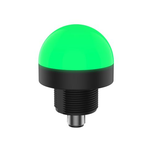indicador luminoso permanente / LED / montado en panel / roscado