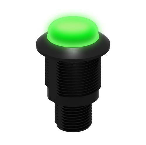 indicador luminoso permanente / LED / montado en panel / al ras