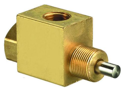 distribuidor hidráulico de clapeta / accionado neumáticamente / de 3/2 vías / normalmente cerrado