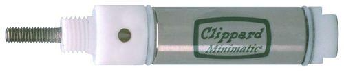cilindro neumático / de doble efecto / resistente a la corrosión / de acero inoxidable