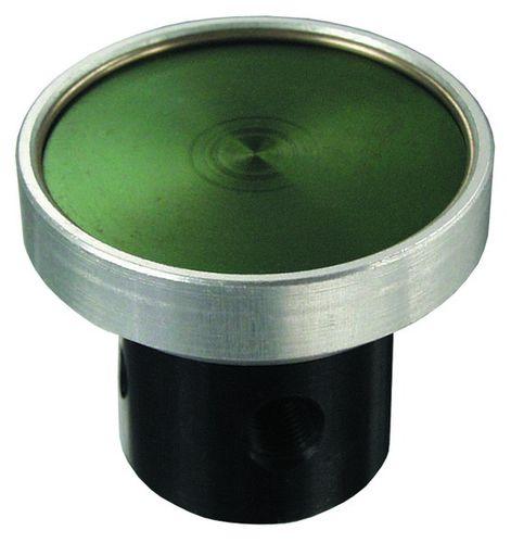 válvula con chapaleta / con control neumático / normalmente cerrada / de 3 vías