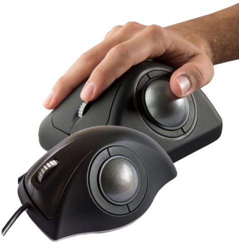 Trackball óptico / de mesa / 2 inch (50 mm) / USB