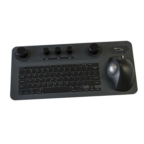 teclado a medida / empotrable / con interruptores de tijera / para panel de control