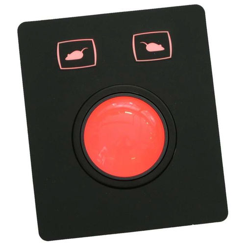 Trackball mecánico / empotrable / 2 inch (50 mm) / IP65