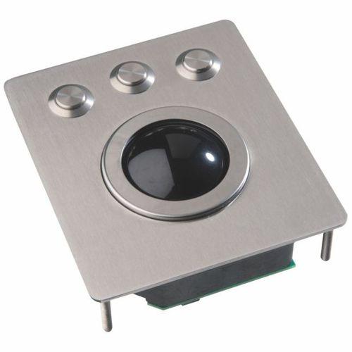 Trackball mecánico / empotrable / 2 inch (50 mm) / de acero inoxidable