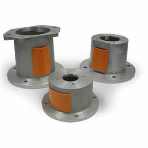 racor de brida / recto / hidráulico / aleación de aluminio