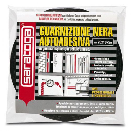 cinta adhesiva de caucho / para la industria / de espuma / negra