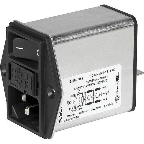 módulo de inserción con interruptor