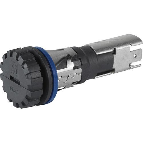 portafusible enchufable / IEC / IP67 / resistente a los golpes