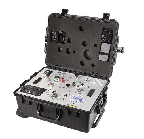 analizador de gas natural / de presión / de humedad / portátil
