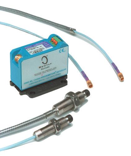 sensor de proximidad de corrientes de Foucault / para entorno difícil / analógico