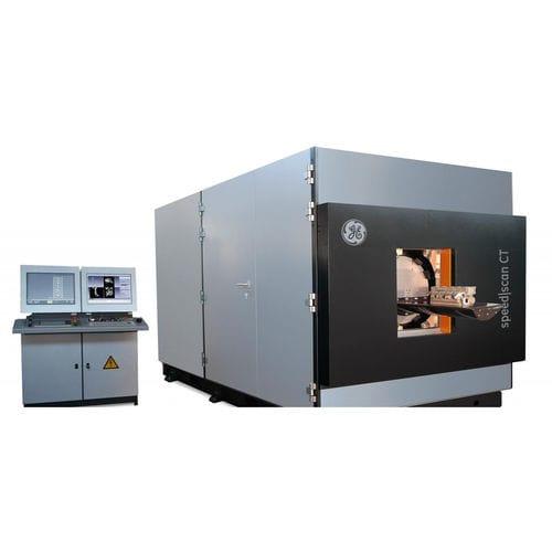 máquina de tomografía computarizada CT