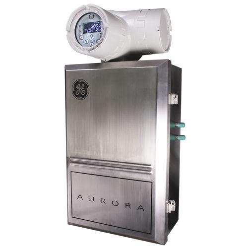 analizador de gas natural / de dióxido de carbono / de humedad / benchtop