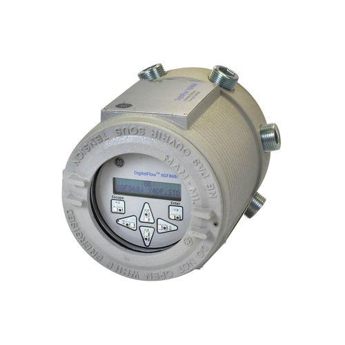 caudalímetro por ultrasonidos / másico / para gas de antorcha / para vapor