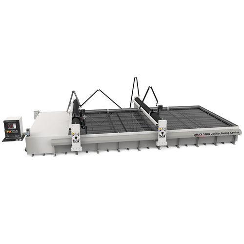 máquina de corte con chorro de agua abrasivo / para metal / para material plástico / para materiales compuestos