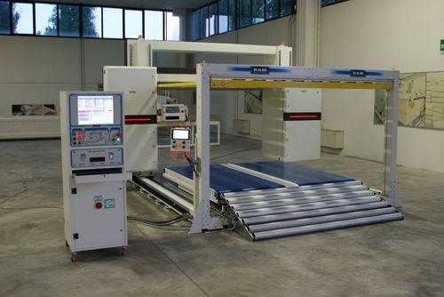 máquina de corte para caucho / para espuma / con cutter / de perfiles