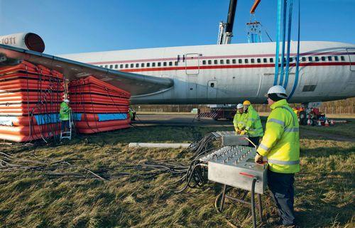 cojín de elevación para cargas pesadas / para aplicaciones aeronáuticas