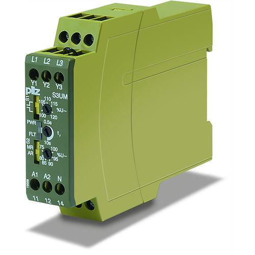 relé de vigilancia de corriente / de tensión / de temperatura / de fuga por tierra