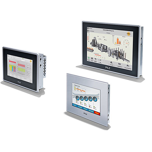 terminal HMI con pantalla táctil / empotrable / RISC / IP65