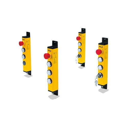 caja de botones con 4 botones / IP65 / start/stop