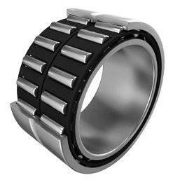 rodamiento de rodillos cilíndricos / radial / de dos hileras / de acero