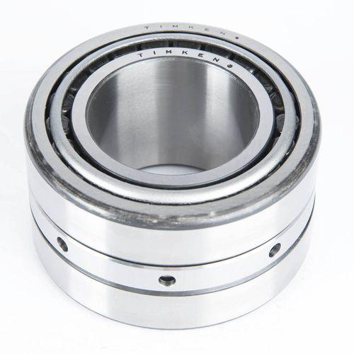 rodamiento de rodillos cónicos / de dos hileras / de acero / para la industria