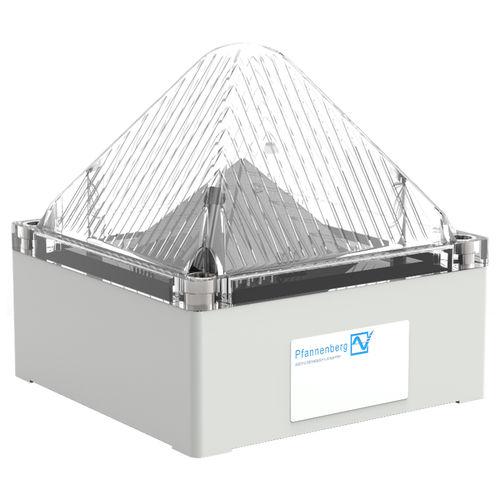 avisador luminoso permanente / intermitente / LED / 230 V CA