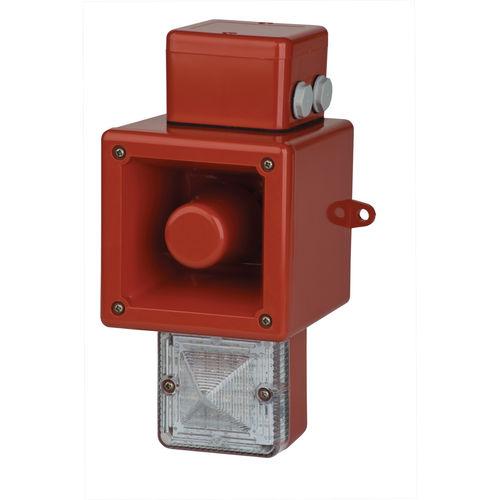 avisador luminoso de destellos / de xenón / 230 V CA / 24 V CC