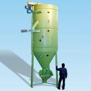 silo con agitador / de plástico / para reciclaje