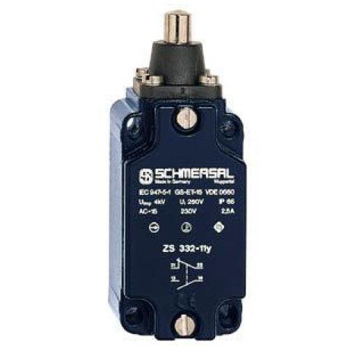 interruptor de posición IP65 / con función de seguridad / con émbolo