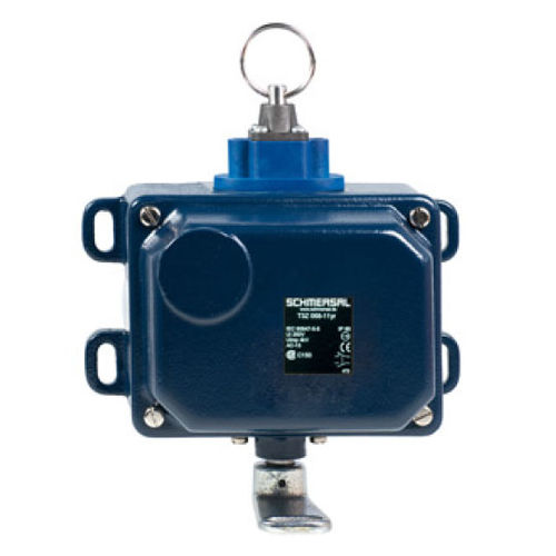 interruptor con control por cable / multipolar / de parada de emergencia / IP65