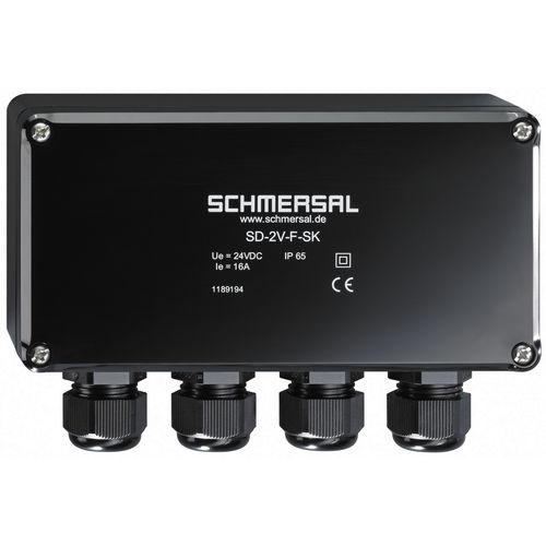 caja de conexiones de pared / IP65 / aislada / de termoplástico
