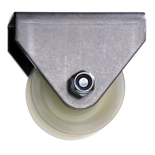 polea de rueda libre / para cable de acero / de acero inoxidable
