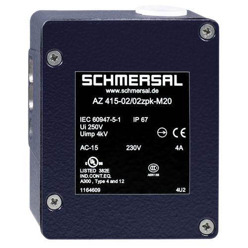 interruptor multipolar / de baja tensión / con actuador separado / de seguridad